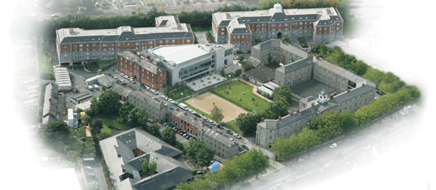 Aerial view of Griffith College as it is today.