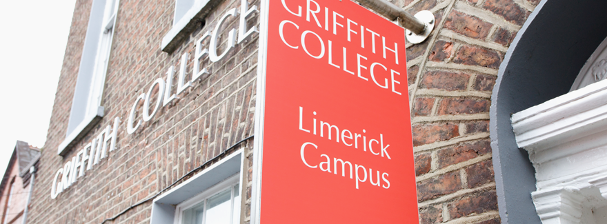 Griffith College Limerick Campus Sign