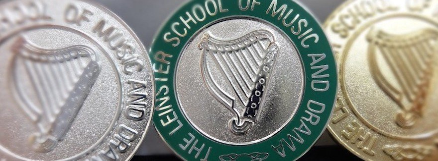 Medals from the Leinster School of Music and Drama