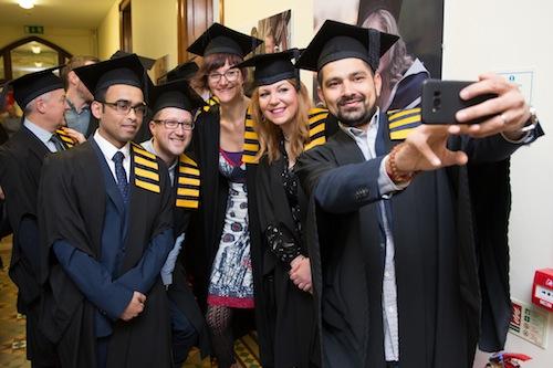 Celebrating graduation at Griffith College Cork