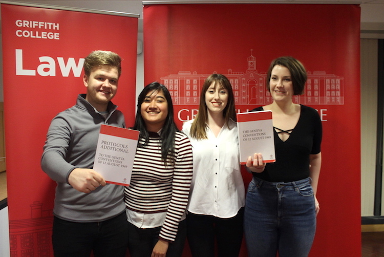 Law students at Griffith College