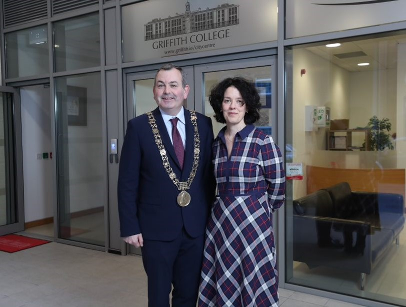 Lord Mayor of Dublin at Griffith College City Centre