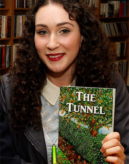 Griffith College student and author, Sara Donohue