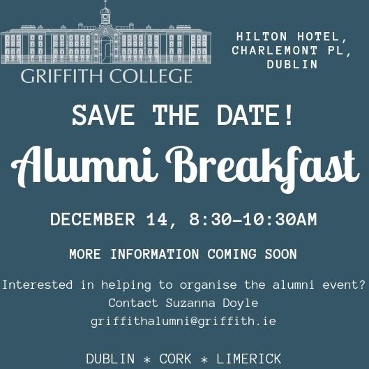 Griffith College Alumni Breakfast