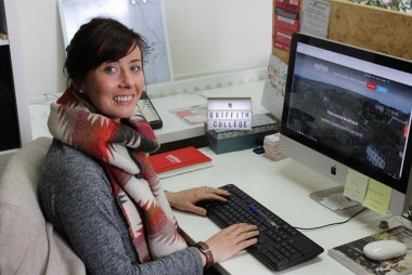 School's Liaison Officer at Griffith College, Sinead O'Callaghan