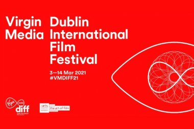 Logo of the Virgin Media Dublin International Film Festival