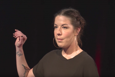 Mia Goring at TedxGriffith College