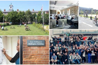 Open Day collage