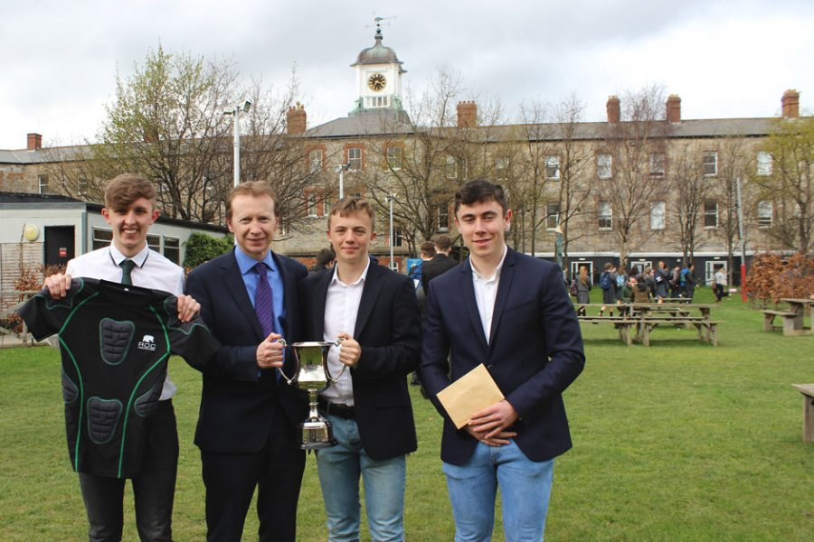 ROC Protection, winners of the Business Enterprise Competition