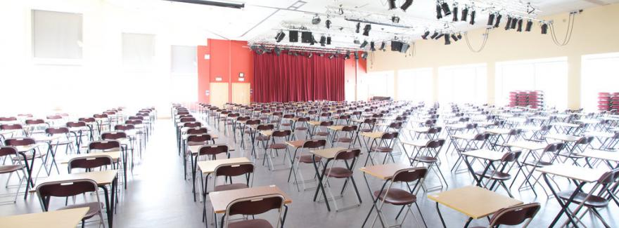 conference centre exams