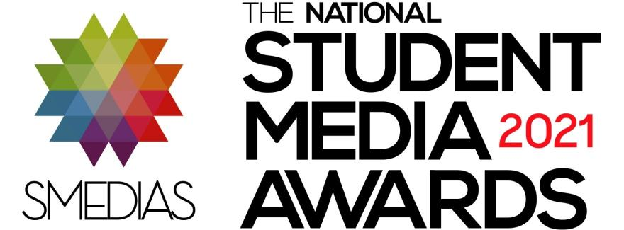 2021 Student Media Awards logo