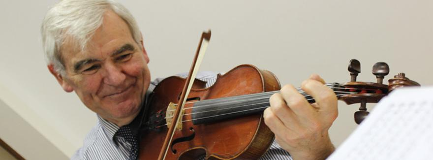 Joe Harte PLays The Fiddle The LSMD Griffith College