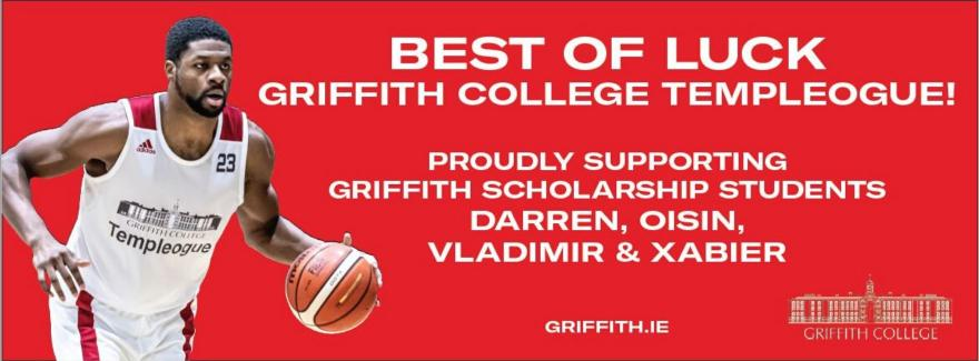 Griffith College Scholarship student and basketball player, Darren Townes
