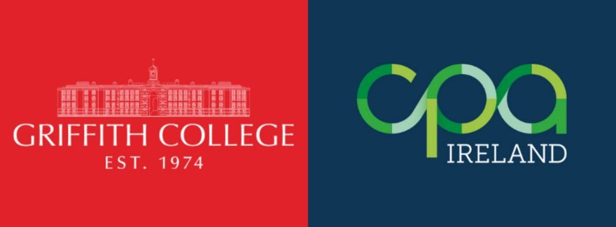 Griffith College and CPA Ireland logos