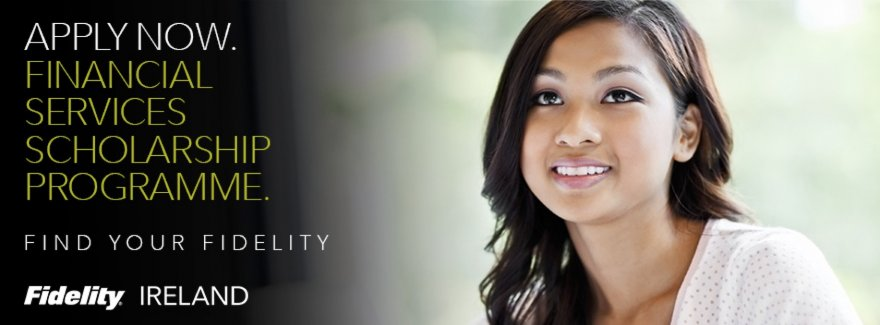 Apply for Fidelity's Financial Services Scholarship Programme