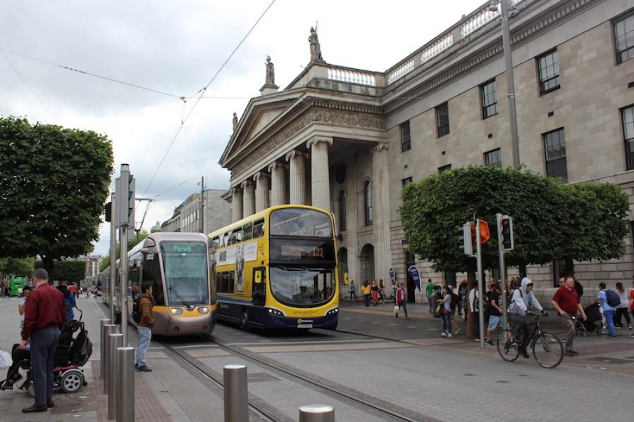 GPO on O'Connell Street