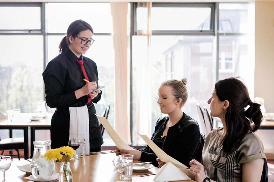 Epicurious Restaurant served by Hospitality students