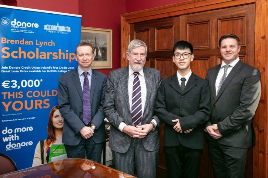 Donore Credit Union and Griffith College award scholarship