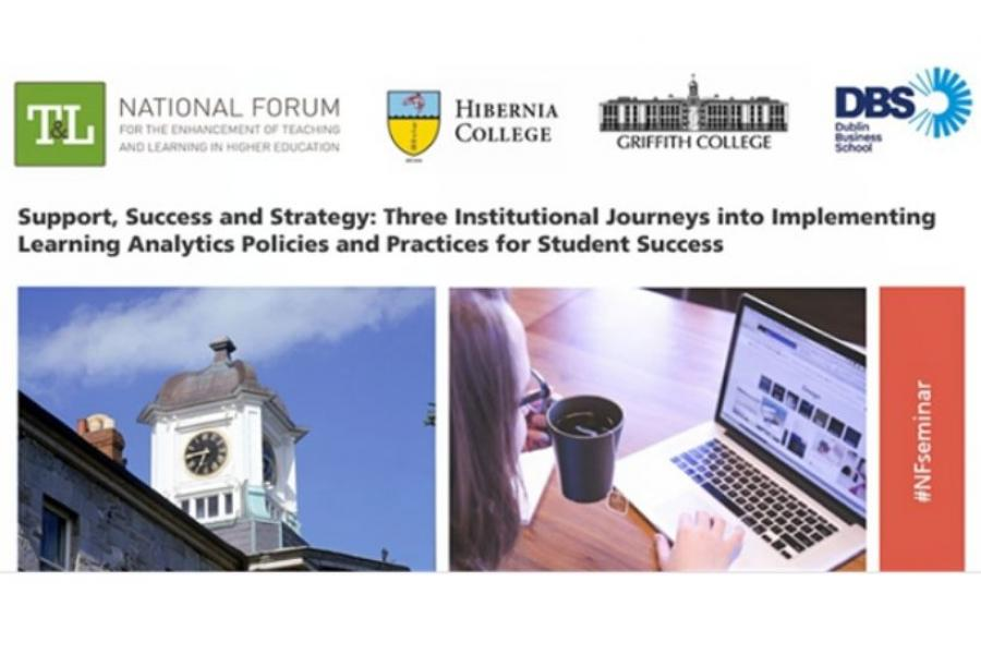 Support, Success, Strategy: Institutional Journeys into Learning Analytics