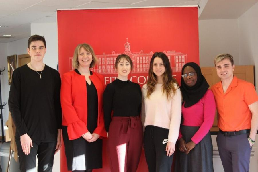 Griffith College's National Negotiation Competition 2020 team