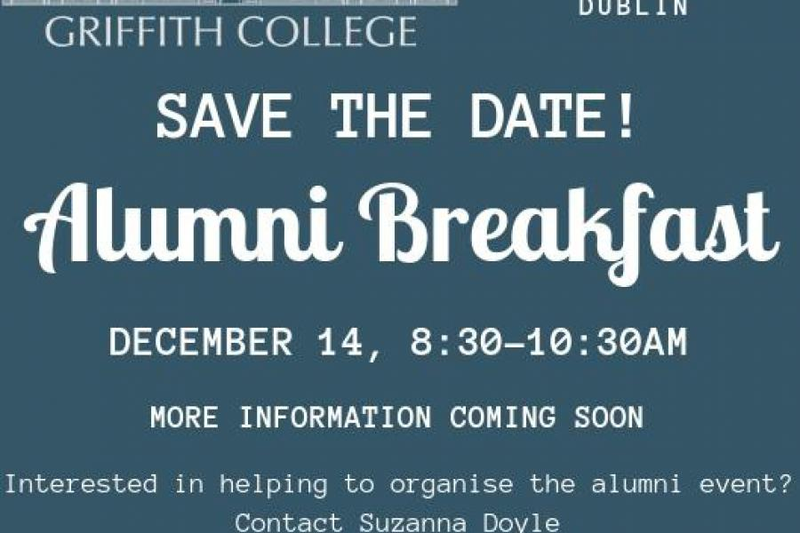 Griffith College Alumni Breakfast