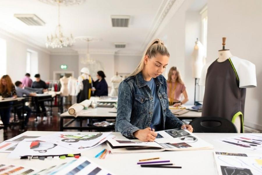 Design student at Griffith College