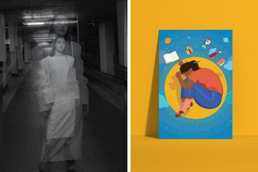 Graduate work from Bethaney Woolley and Lijie Yan