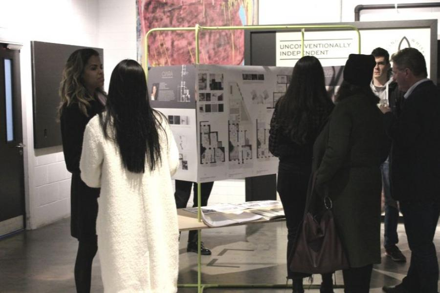 Design & Architecture students display their work at Teeling