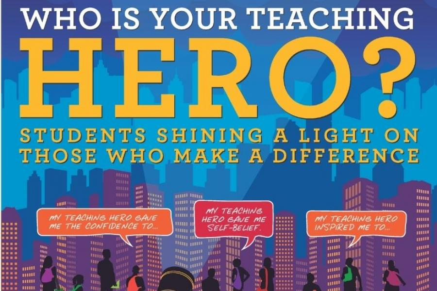 Students have the opportunity to celebrate the teachers in their life.