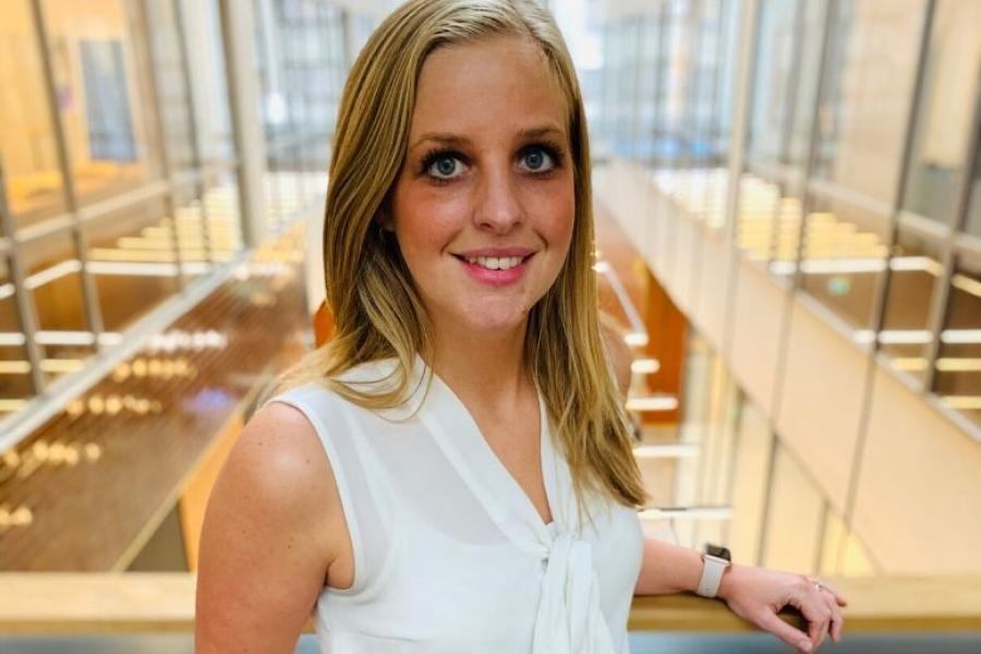 Griffith College alumna Johanna Walsh
