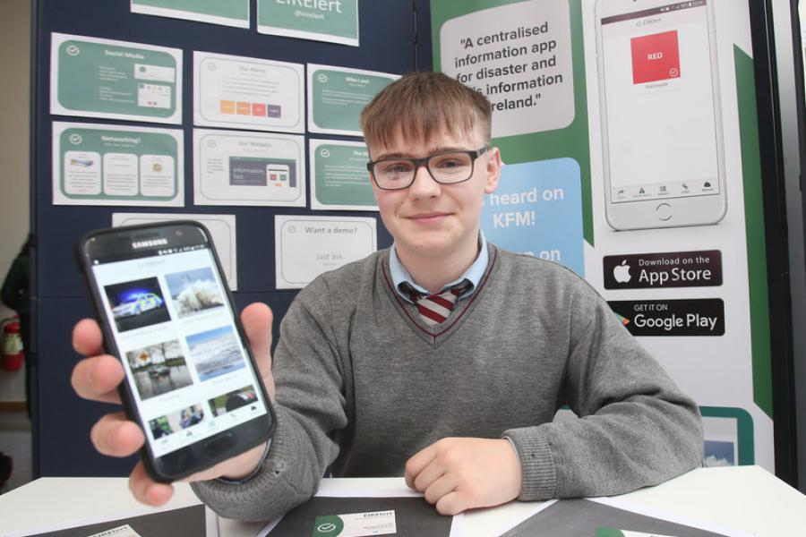 Jack Jordan, Griffith College Business Enterprise Competition Winner