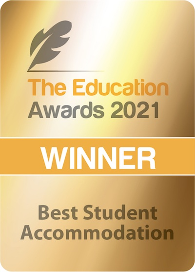 Winner of Best Student Accommodation in the 2021 Education Awards