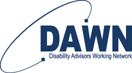 Disability Advisors Working Network logo