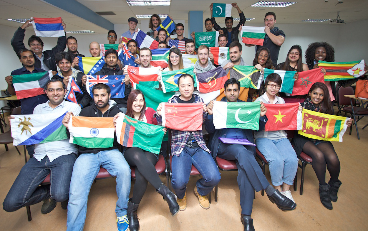 International Students at Griffith College