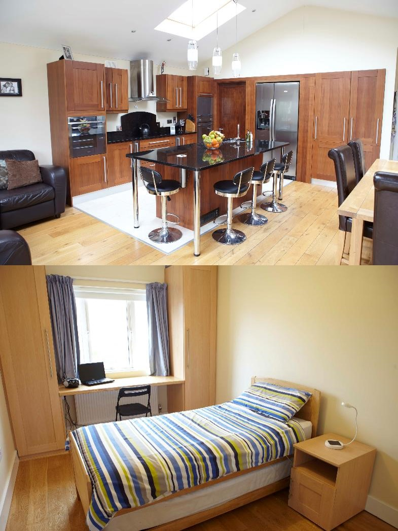 Host family accommodation Dublin