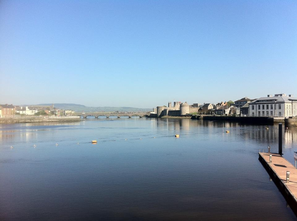 The River Shannon in Limerick City