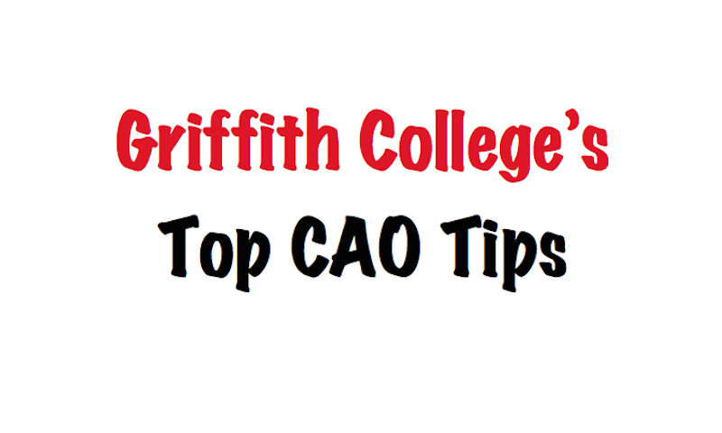 CAO Course Choices and how to complete the CAO application in 2015