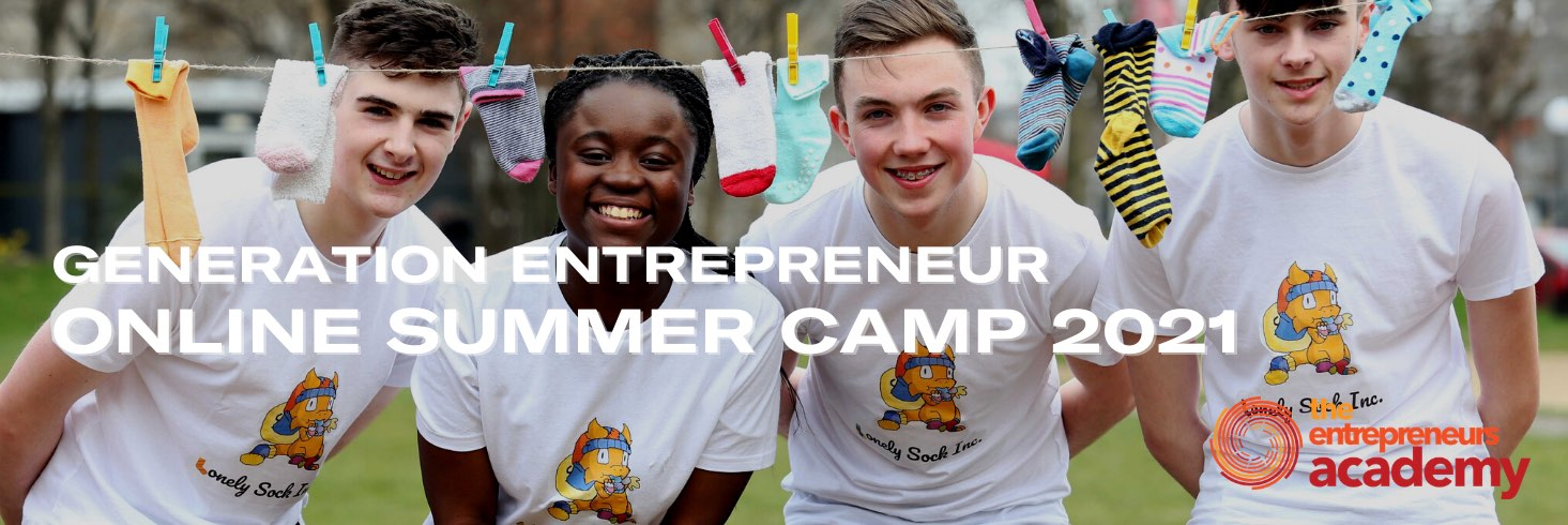 Students at Generation Entrepreneur Summer Camp at Griffith College