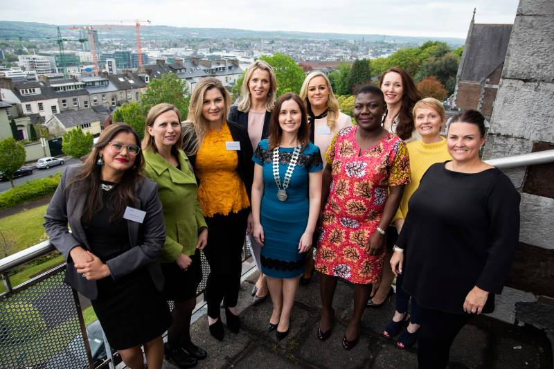 Outstanding Women Panellists with Network Cork members and Griffith College Staff