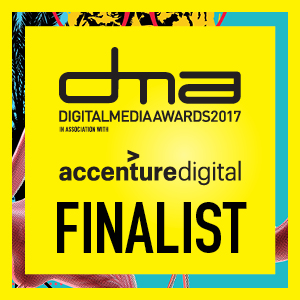 Accenture Digital Media Award - Digital Student of the Year Finalist Badge