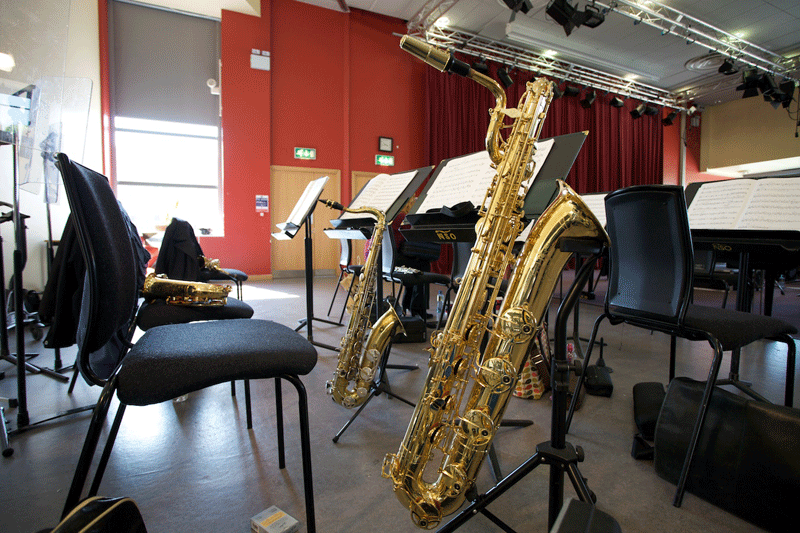 Saxophone in the Leinster School of Music & Drama