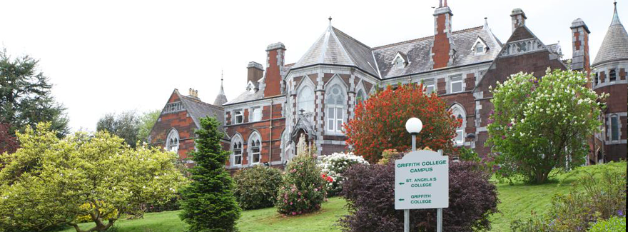 Griffith College Cork form the gates