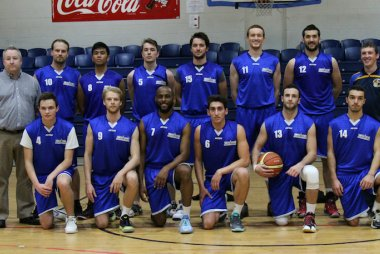 Griffith College's Basketball team