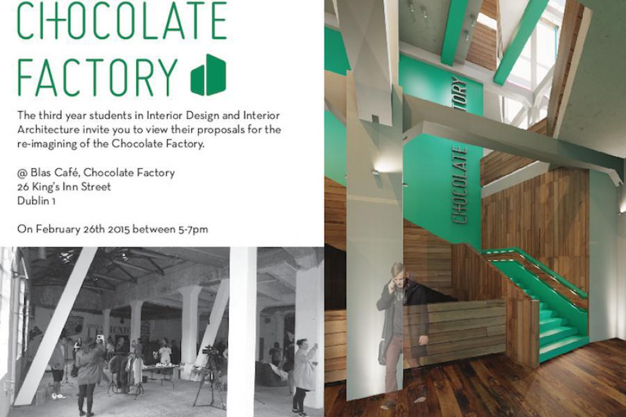 Re imagining the chocolate factory griffith college