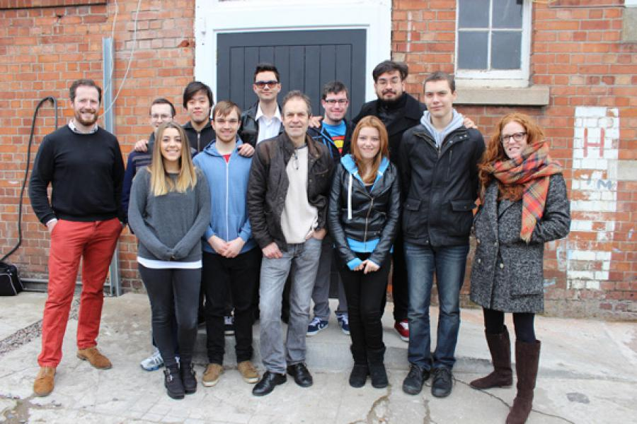Director Mark Craig Meets BA in Film and TV Students