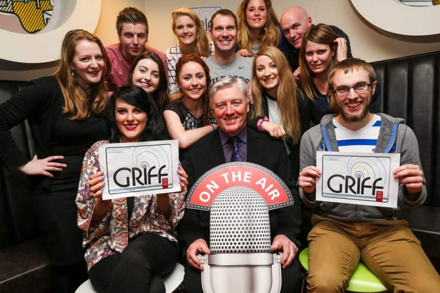 MA Journalism class with Pat Kenny