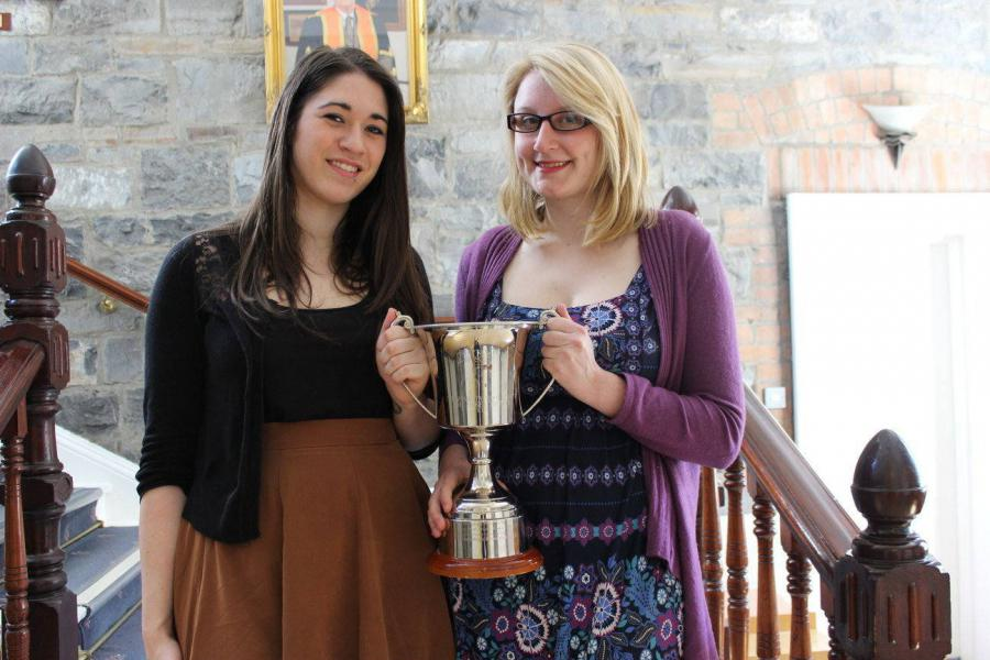 Law students Silken Thomas NUI Maynooth Moot winnners 2015
