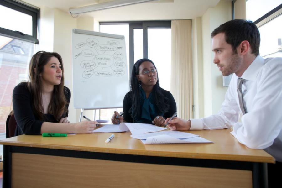 BA in Business Studies academic Progression