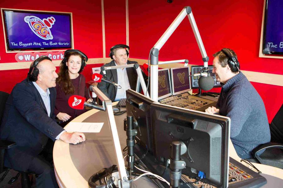 Griffith College and Cork's 96FM