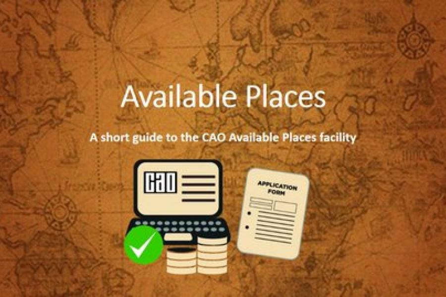 CAO available places